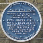 1455 Plaque at Castle Hill House