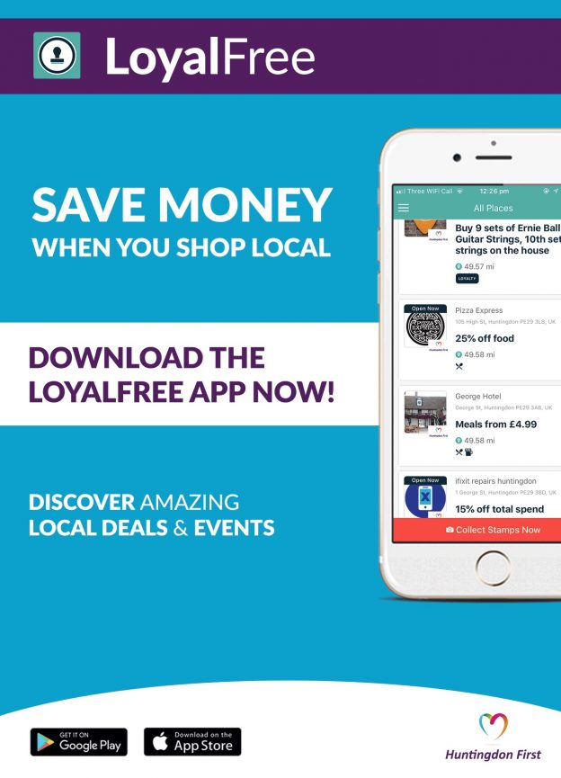 Offers & Savings | FREE App | Huntingdon First