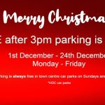 Christmas Free After 3pm car parking is back