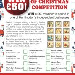 WIN a £50 voucher in time for Christmas!