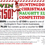Naughty Elf Trail – Win £150!